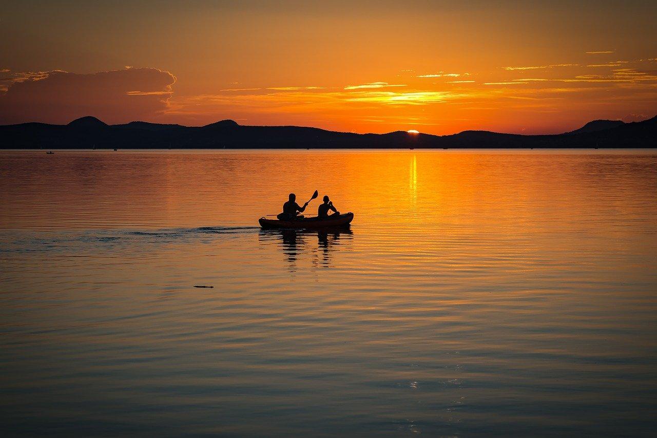 אגם בלטון בהונגריה