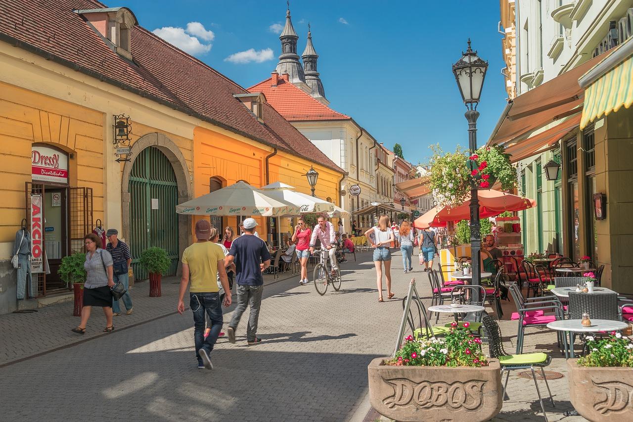 העיר אגר בהונגריה