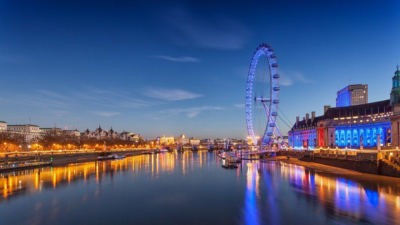 לונדון איי בבריטניה