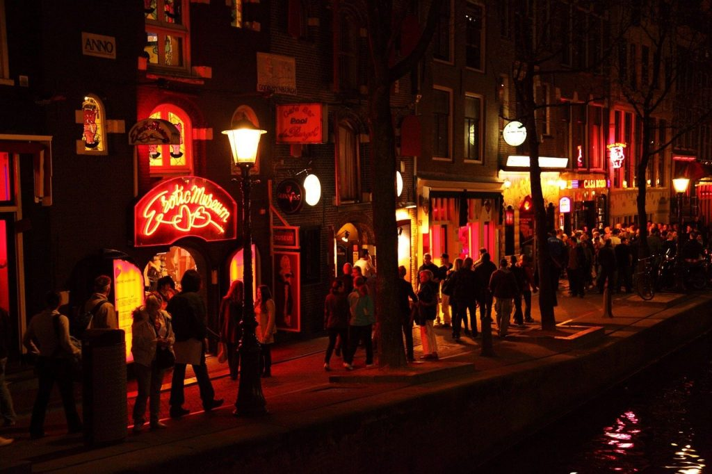 החלונות האדומים באמסטרדם