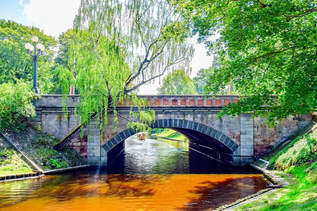 עיירת הנופש טאלסי בלטביה