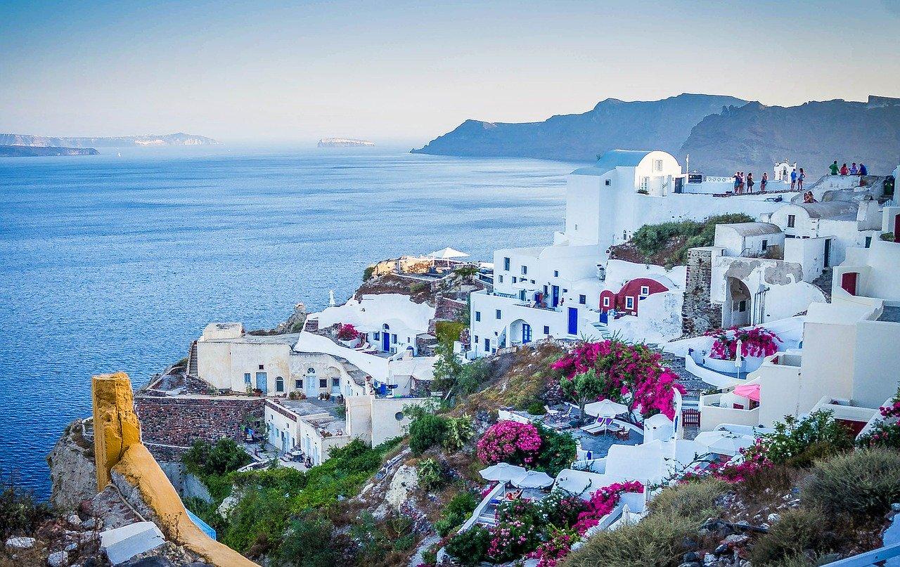 האי סנטוריני ביוון