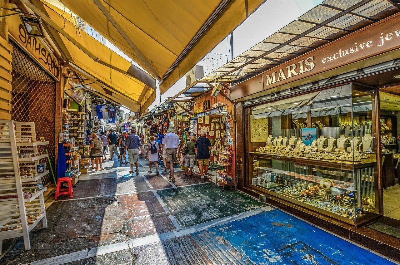 סיור אוכל בשוק ביוון